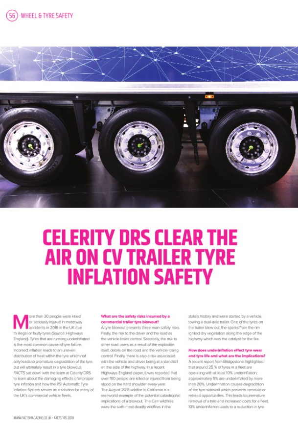 Celerity DRS features in FACTS Magazine